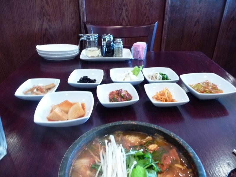 meega korean bbq banchan